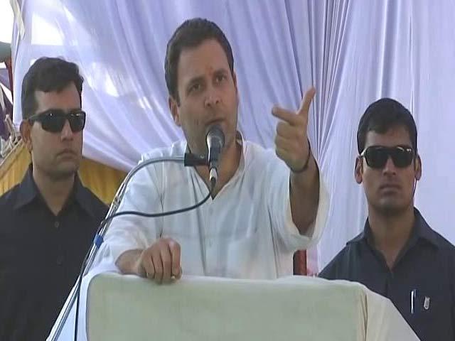 Video : Why 'Chowkidar' Is Silent: Rahul Gandhi Attacks PM Modi On Bank Frauds