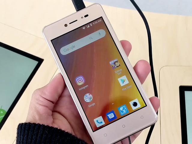 Video : Lava Z50 Android Go Smartphone First Look: Camera, Features, And More