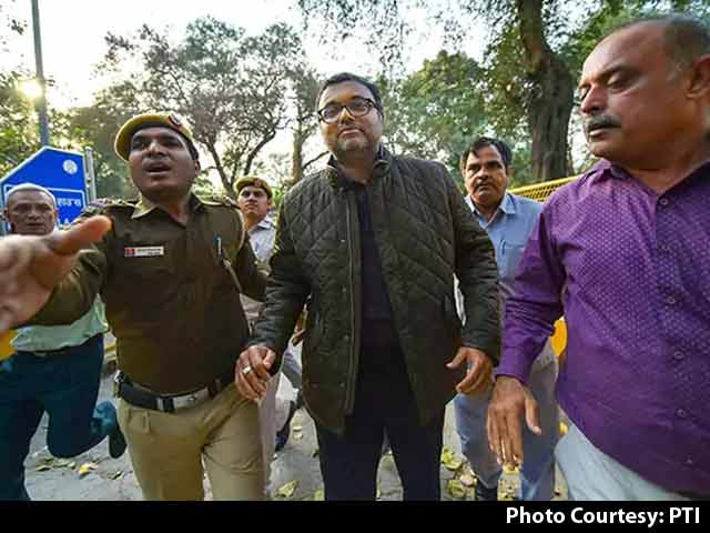 Video : Karti Chidambaram, Arrested In Corruption Case, Sent To CBI Custody For A Day