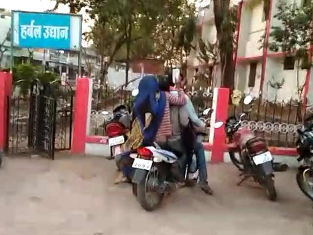 Video : Denied Ambulance, They Rode With Sick Daughter On Bike For 30 km. She Died