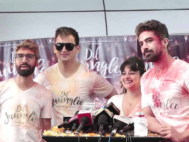 Cast Of Dil Juunglee Celebrates Holi