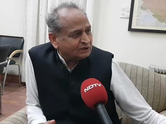 Video : In Tripura, BJP Took Advantage Of Anti-incumbency Against Left: Congress' Ashok Gehlot