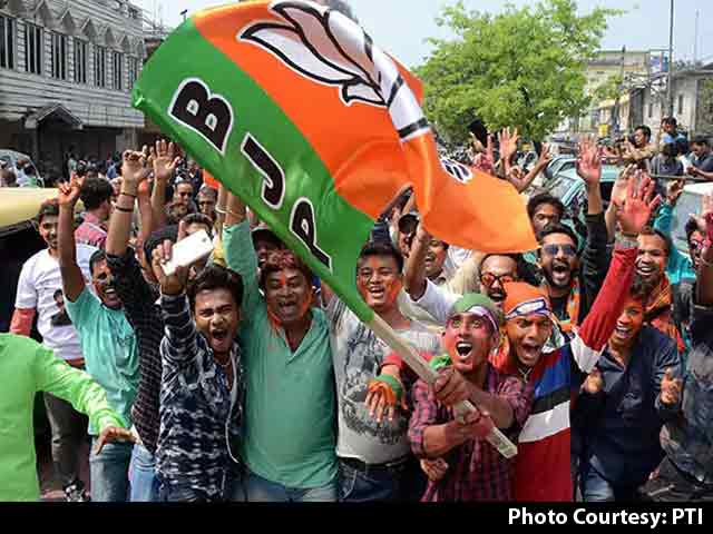 Video : Tripura Celebrates BJP Win, Says They Voted For Development