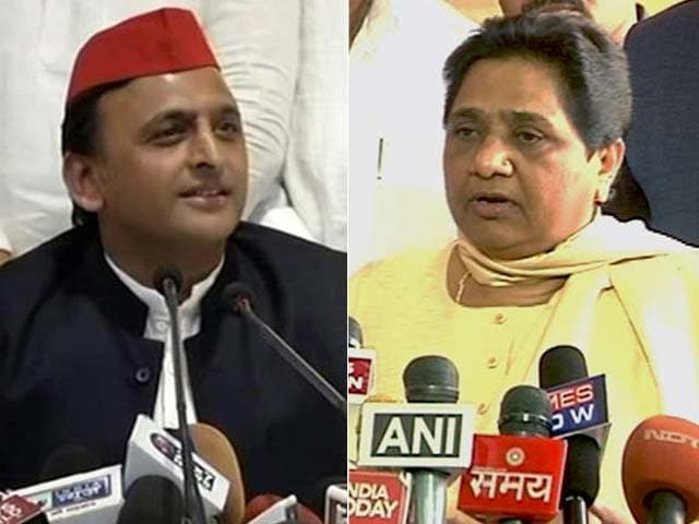 "Video : ""Not An Alliance"": Mayawati Explains Arrangement With Samajwadi Party"