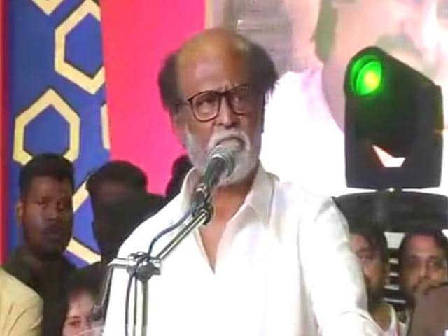 "Video : ""I'm Here To Fill Political Vacuum In Tamil Nadu"": Another Rajinikanth Blockbuster?"