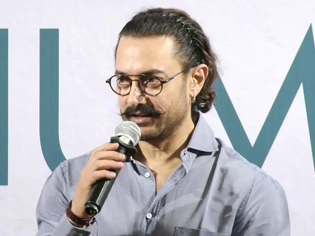 "Video : ""I Am Not Disciplined."" Aamir Khan At Manjeet Hirani's Book Launch"