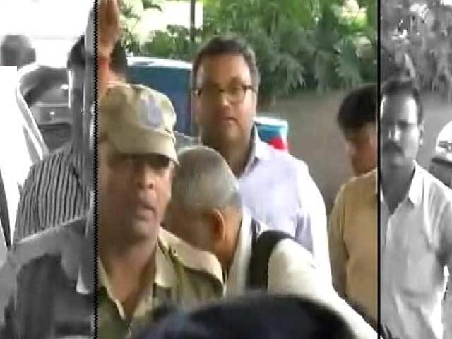 Video : न्यूज टाइम इंडिया : कार्ति की हिरासत 3 दिन के लिए बढ़ी