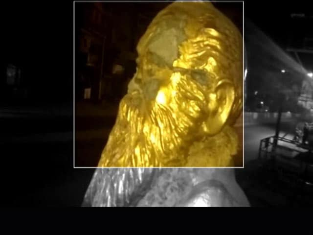 Video : Periyar Statue Vandalised In Tamil Nadu After BJP Leader's Facebook Post