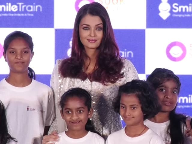 Aishwarya Rai Bachchan On Cleft Care By Smile Train Charity