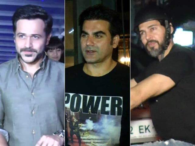 Celeb Spotting! Dino Snapped On His Bike, Emraan & Arbaaz Outside A Restaurant