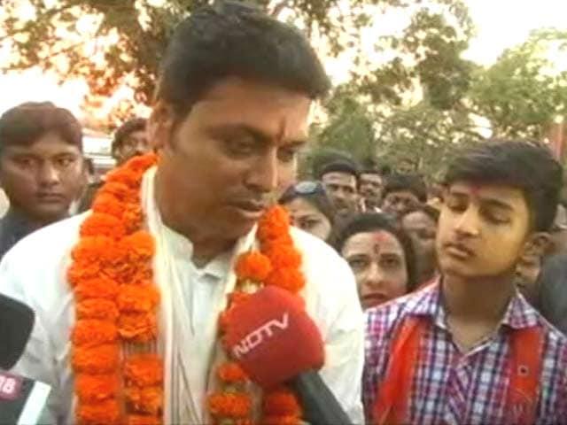 Videos : हमारी सरकार सबकी सरकार होगी: त्रिपुरा के भावी CM बिप्लब देब