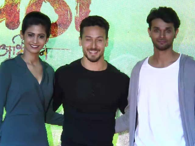 Tiger Shroff At The Trailer Launch Of Marathi Film Gavthi