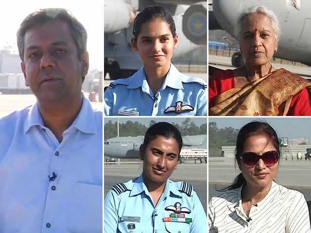 Video : Meet Indian Air Force's Women Heroes