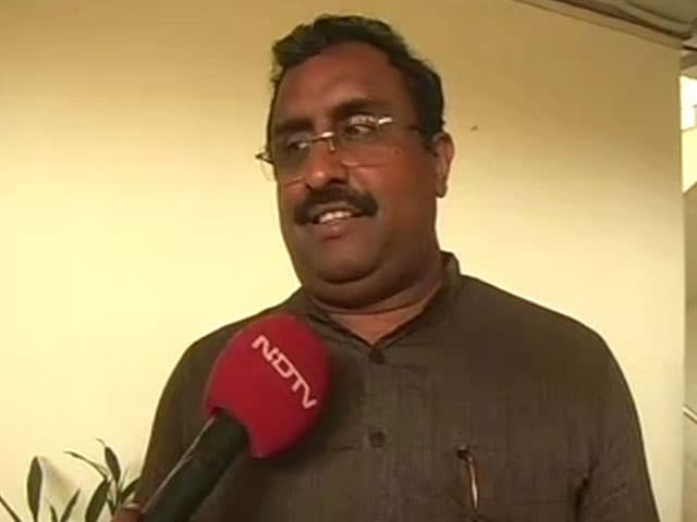 Video : Have Differences With Left, But Can Work With Manik Sarkar: Ram Madhav To NDTV