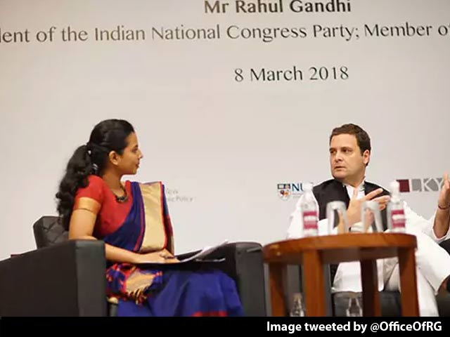 Video : Rahul Gandhi, Grilled In Singapore, Says: 'You Wouldn't Dare With PM Modi'