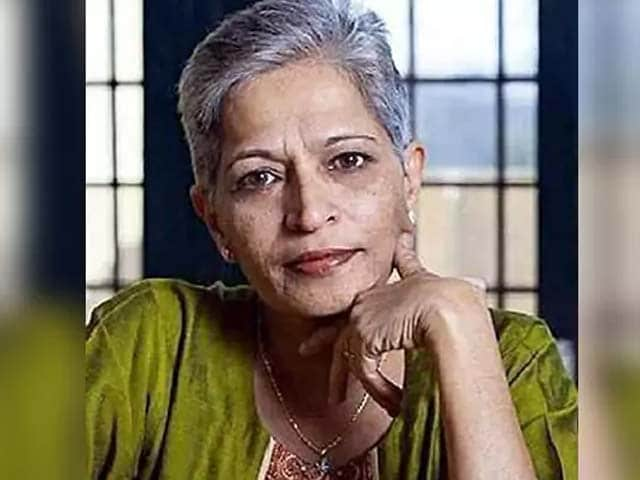 Video : Police Make First Arrest In Journalist Gauri Lankesh Murder Case