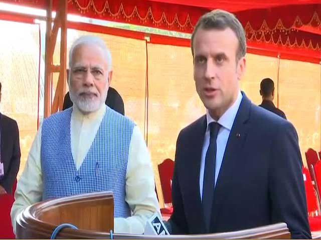 Video : Have 3 Main Objectives For My Visit To India, Says French President Macron