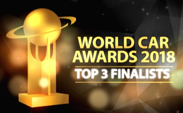 Video : World Car Of The Year 2018 Top Three Finalists