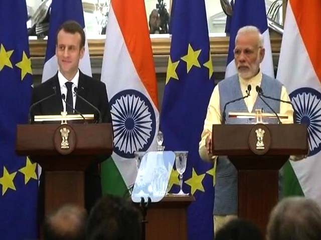 Video : India And France March Shoulder To Shoulder, Says PM Modi
