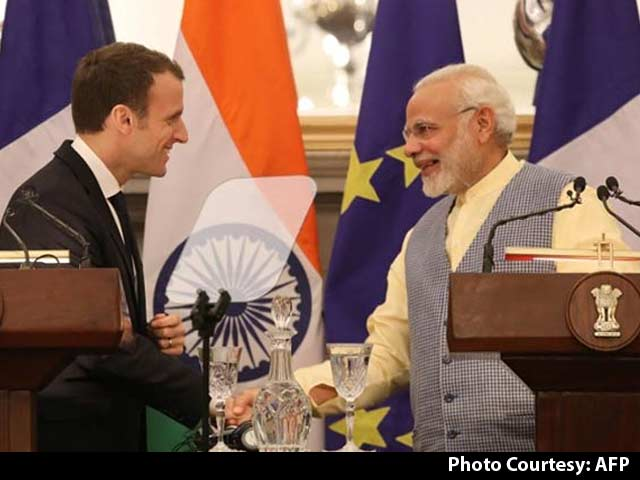 "Video : In ""Big Leap"", India-France Scale Land, Water, Air And Space"