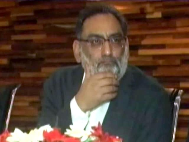 "Video : J&K Minister Who Said Kashmir ""Not A Political Issue"" Sacked: Sources"