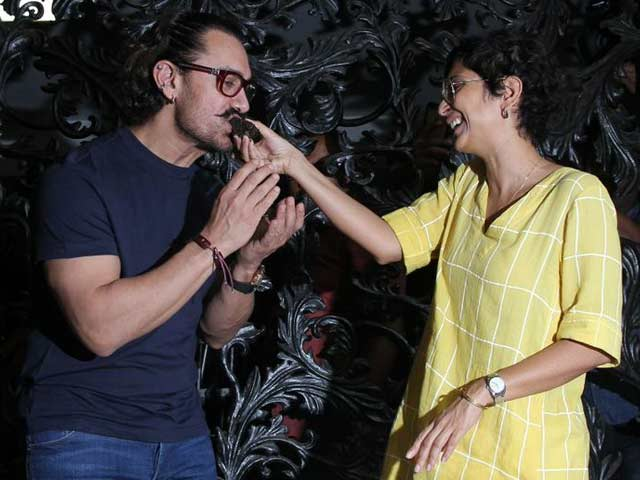 Aamir Khan's Birthday Celebrations At His Bandra Home