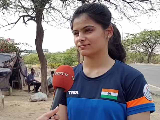 Video : Didn't Expect The Reception I Received On Returning: Manu Bhaker