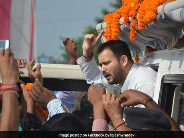 Video : Lalu Is On BJP's Hit List, Says Tejashwi Yadav