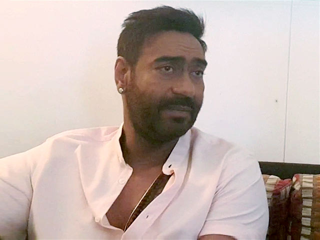 Video : Honest Income Tax Officers Risk Their Lives: Ajay Devgn