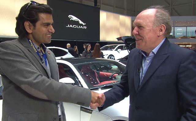 Video : In Conversation With Ian Callum, Director Of Design, Jaguar