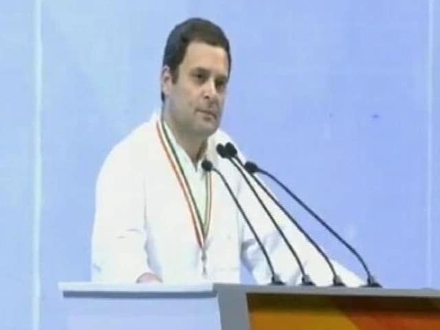 Video : Anger Being Spread In The Country Today, Says Rahul Gandhi