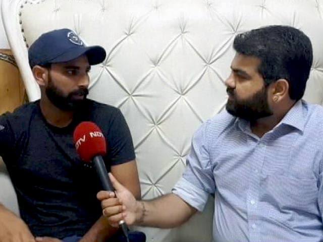 Video : सारे आरोप गलत और आधारहीन, NDTV से बोले मोहम्मद शमी