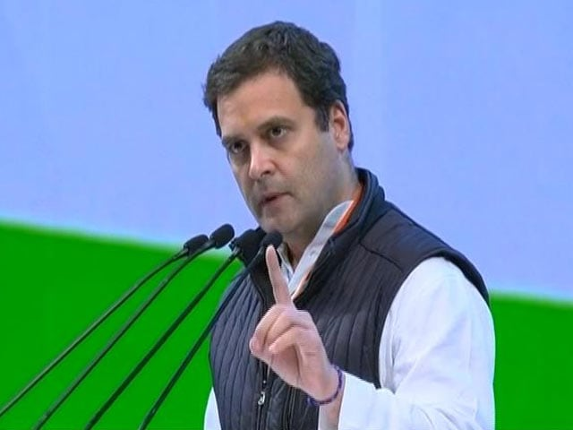 Video : As Farmers Die, PM Distracts People With Yoga, Says Rahul Gandhi