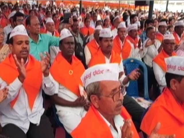 Video : Ahead Of Polls, Karnataka Pushes Separate Religion For Lingayats