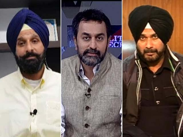 Video : Punjab's Drug Politics: Navjot Sidhu vs Bikram Majithia