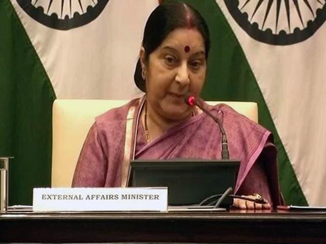 Videos : राज्यसभा में हंगामें की वजह से नहीं बोल पाईं सुषमा स्वराज