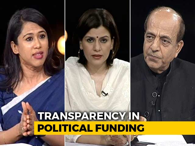 Video : Do Parties Want To Clean-Up Political Funding At All?