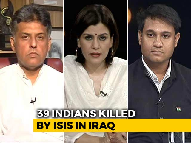 Video : Political Row Over Indians Killed By ISIS
