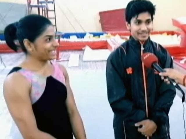 Videos : भारतीय जिमनास्ट आशीष कुमार और अरुणा रेड्डी से खास बातचीत
