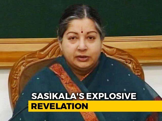Video : Jayalalithaa Refused To Go To Hospital, AIADMK Leaders Met Her: Sasikala