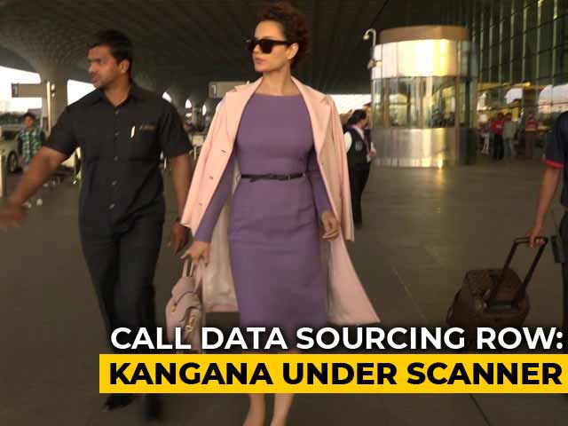 Kangana Ranaut, Ayesha Shroff Drawn Into Call Data (CDR) Scam