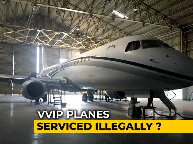 Video : How VVIP Planes Are Being Compromised At A Hangar In Maharashtra's Gondia