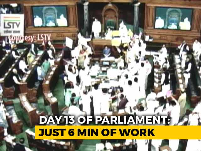Video : 6 Minutes. That's How Long Parliament Worked Yesterday.