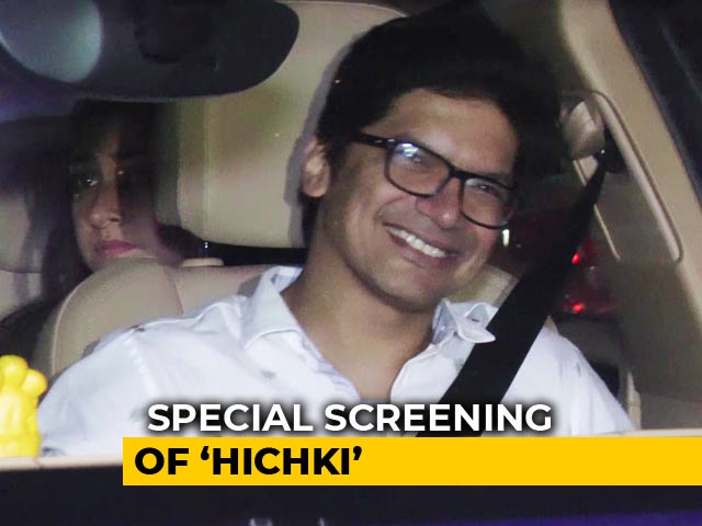 Rani Mukerji Hosted A Special Screening Of Hichki