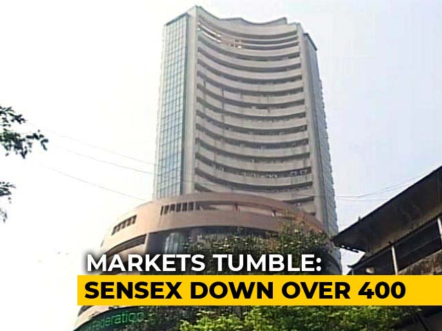 Video : Sensex Opens 400 Points Down, Nifty Falls Below 10,000 Points