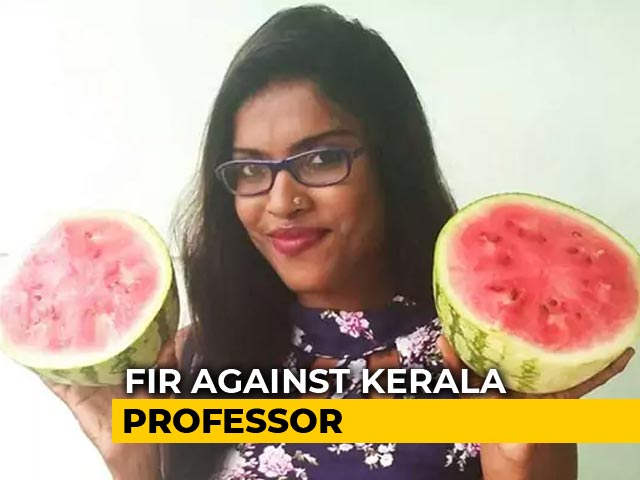 Video : Case Filed Against Kerala Professor Who Provoked Watermelon Protests