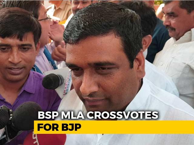 Video : Mayawati's Lawmaker Says He's With Yogi Adityanath. BSP Down 2 Votes