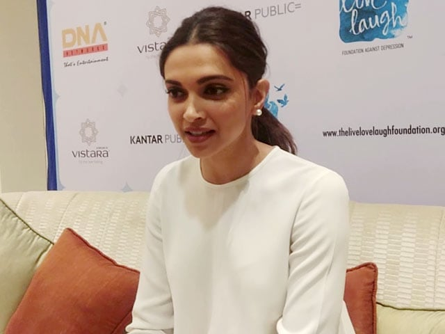 Video : So What If People Judge You?: Deepika Padukone On Dealing With Depression