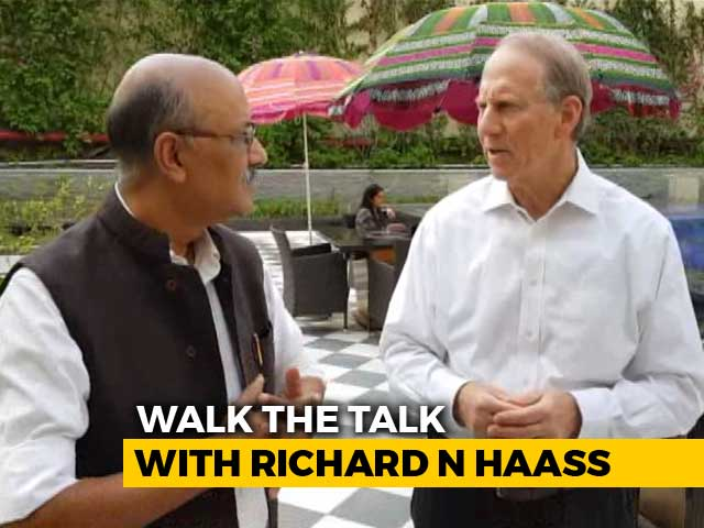 "Video : ""Trump Not A Republican President"": Richard N Haass"