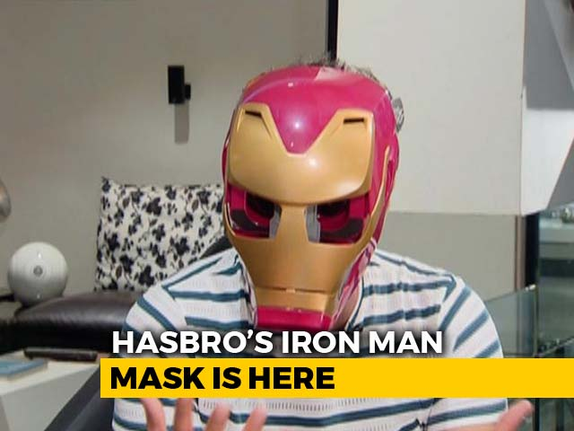 Video : The Man In The Iron (Man) Mask